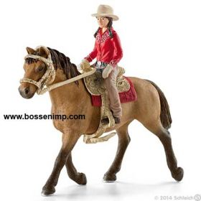 1/16 Horse w/western Rider