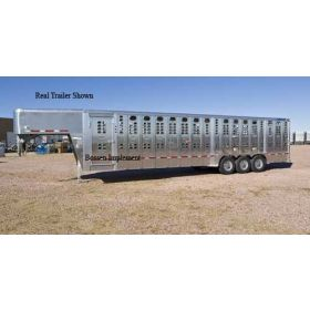 1/64 Trailer Wilson Foreman 36' Livestock with interior detail assembled