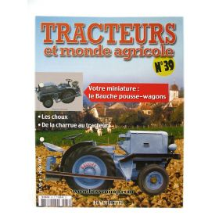 French Magazine Tracteurs et monde agricole #39