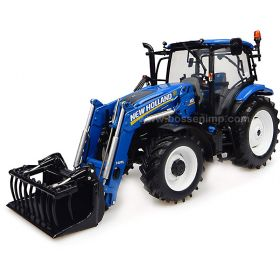 1/32 New Holland T6.145 MFD with NH 740TL Loader