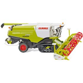 1/87 Claas Combine Lexion 770 TT on track with grain head
