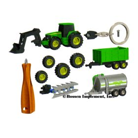 1/128 John Deere 6920 wtih accessories Key Chain