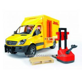 1/16 Mercedes Benz Sprinter DHL Van