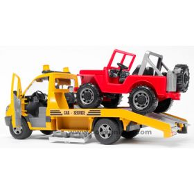 1/16 Mercedes Benz Sprinter Tow truck w/Jeep