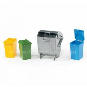 1/16 Accessory Set, Garbage Dumper & Cans set