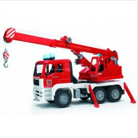 1/16 MAN TGA Fire Engine Crane Truck w/Lights & Sound