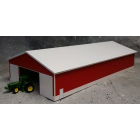 1/64 Machine Shed 60 X 120 White & Red