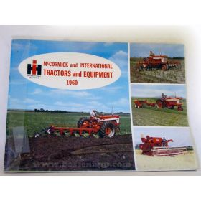 Book IH 1960 McCormick & International Tractors & Equipment
