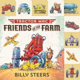 Book Tractor Mac Friends on the Farm Board / Flap Book