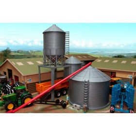 1/32 Grain Bin and Hopper Bin set