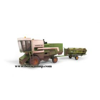 1/87 Fortschritt Combine E514 w/grain head green