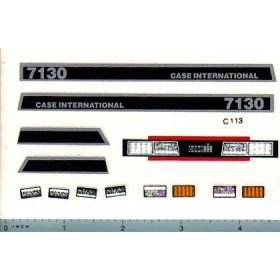 Decal 1/16 Case IH 7130 Set (early version)