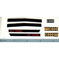 Decal 1/16 Case 1270 Agri King (451 Turbo) Set (sm model #'s)
