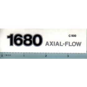 Decal 1/16 Case IH Combine 1680 Axial Flow model number