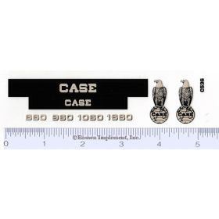 Decal 1/16 Case 660, 960, 1060, 1660 Combine Set