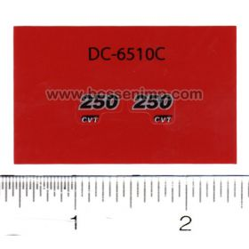 Decal 1/32 Case IH Magnum 250 CVT Model Numbers