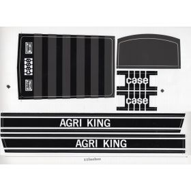 Decal Case Agri King Pedal Tractor