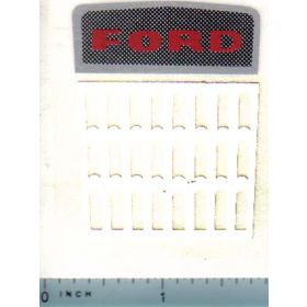 Decal 1/12 Ford Grille