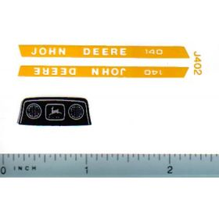 Decal 1/16 John Deere L&G 140 Hood