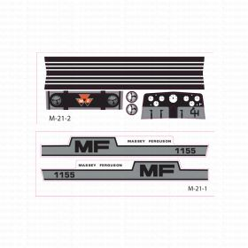 Decal 1/16 Massey Ferguson 1155 Set