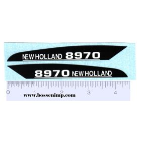 Decal 1/16 New Holland 8970 Hood Panels