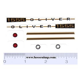 Decal 1/16 Oliver 1555 Set