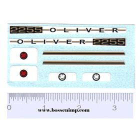 Decal 1/16 Oliver 2255 Set
