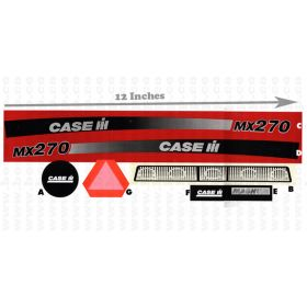 Decal Case IH MX-270 Pedal