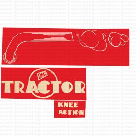Decal BMC Knee Action Pedal Tractor Set