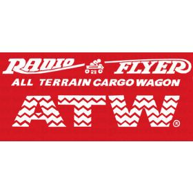 Decal Radio Flyer 29 ATW All-Terrain Cargo Wagon