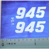 Decal 1/16 Versatile 945 Series 3 Mo. #