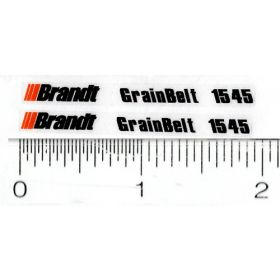 Decal 1/32 Brandt Grainbelt 1545 (Pair)