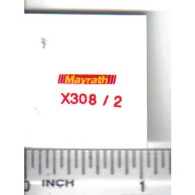 Decal 1/64 Mayrath - Yellow, Red
