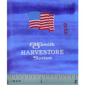 Decal 1/64 AOSmith Harvestore - American