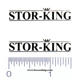 Decal 1/64 Stor-King Set of 2