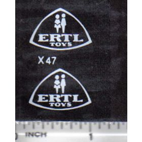 Decal 1/16 Ertl Toys