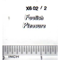 Decal 1/64 Foolish Pleasure