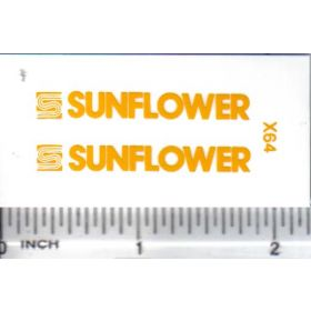 Decal 1/16 Sunflower