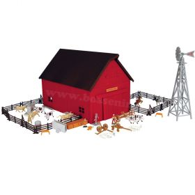 1/64 Western Barn Farm Set