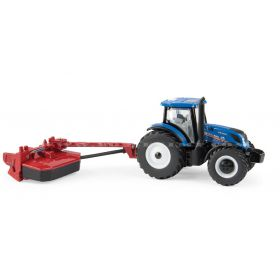 1/64 New Holland T6.175 MFD with H7230 Mower Conditioner