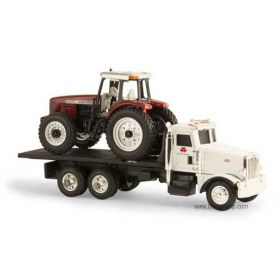 1/64 Peterbilt 367 Straight truck with Massey Ferguson 8270