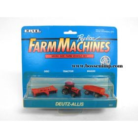 1/128 Deutz Allis set Orange