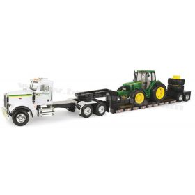 1/16 Big Farm Peterbilt 367 semi with John Deere 7430 & Trailer