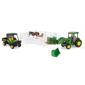1/16 Big Farm JD Hobby Farm Set
