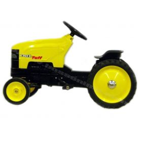 """ERTL TUFF"" Yellow and Black Wide Front Pedal Tractor"
