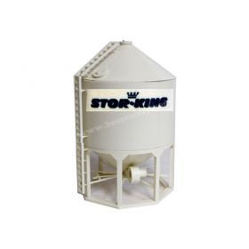 1/64 Model 1610 Grain Bin Stor-King Assembled