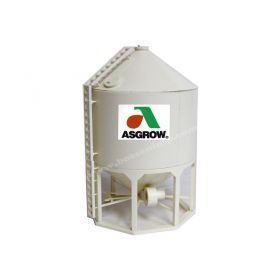 1/64 Model 1610 Grain Bin Asgrow Assembled