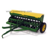 1/16 John Deere Grain Drill Yellow Lids Green Openers