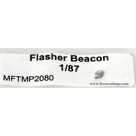 1/87 Flasher Beacon 8 inch