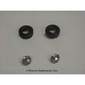 1/64 Pulling Tractor Wheel Front Kit 10.00 X 16.5 Dished AL